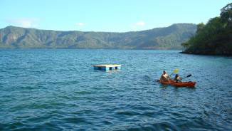 Swimming, nadando, kayak